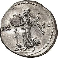 Titus. Denarius, 80/81, Rome. Extremely fine +. Estimate: 500.- euros. From Künker auction 318 (11-12 March, 2019), No. 1132.