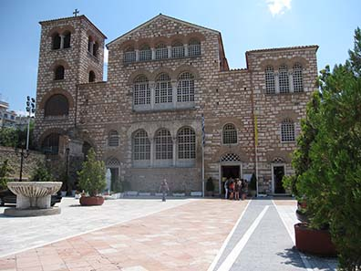 Die Kirche des hl. Demetrios. Foto: KW.