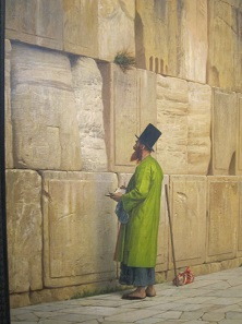 The Wailing Wall. Painting by Jean-Léon Gérome around 1880. Israel Museum. Photo: UK.