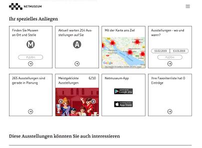 Die Webseite von Netmuseum erstrahlt in neuem Glanz.