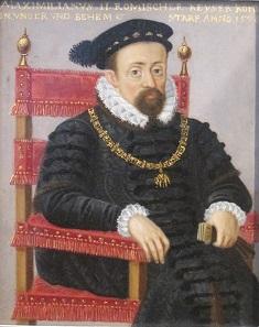 Maximilian II as King of the Holy Roman Empire. Gotha.