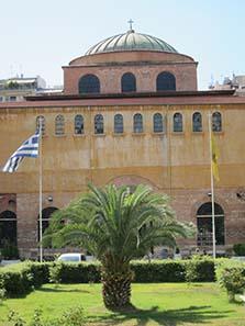 Die Agia Sophia von Thessaloniki. Foto: KW.