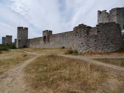 Visby City Wall. Photo: KW.