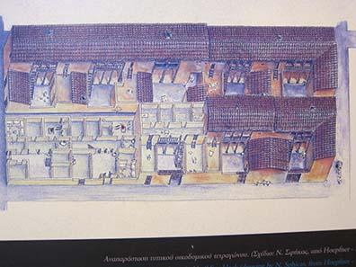 Rekonstruktion eines Häuserblocks. Foto: KW.