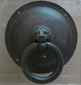 Antiker Türklopfer aus Olynthos. Foto: KW.
