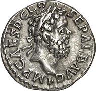 Denar des Clodius Albinus als Augustus. Lyon, 195-197. Rs. Aequitas Augusti. RIC 13(a). Aus Auktion Gorny & Mosch 176 (2009), Nr. 2373.
