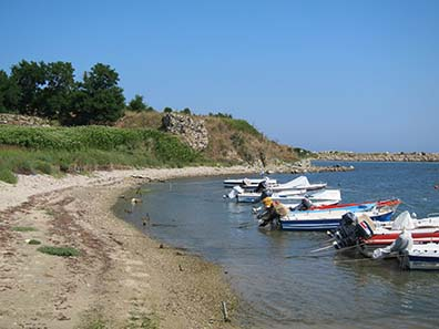 Port of Abdera. Photograph: KW.