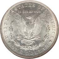 Morgan Silver Dollar 1893-S. MS67.
