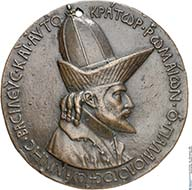 Pisanello, Medaille auf Johannes VIII. Paläologos, 1438/9. © Münzkabinett, Staatliche Museen zu Berlin.