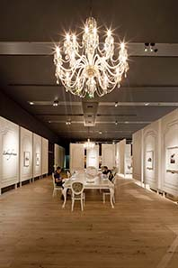 Rautenstrauch-Joest-Museum in Cologne: European Parlour. Photograph: Michael Jungblut.