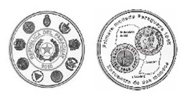 The cobrecito de leon stands for Paraguay.