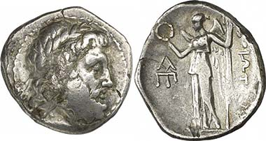 Thebes. Drachme, c. 196-146. From auction Gorny & Mosch 186 (2010), 1305.