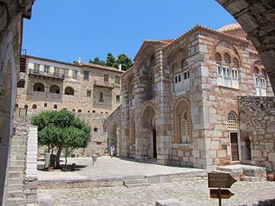 Das Kloster von Osios Lukas. Foto: KW.