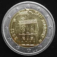 Auf der Stuttgarter Münzenmesse gibt es seltene 2-Euro-Münzen aus San-Marino im Tausch.