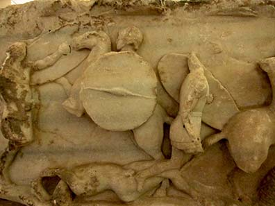 Monument des Aemilius Paullus. Foto: KW.