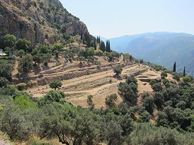 Das Heiligtum der Athena. Foto: KW.