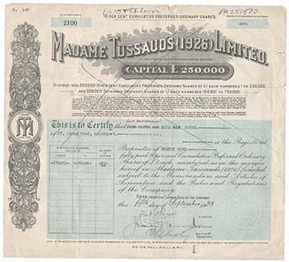 Madame Tussaud machte sich bereits im 18. Jahrhundert als Unternehmerin selbständig.