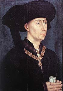 Philip the Good, painting by Rogier van der Weyden around 1450. Source: Wikipedia.