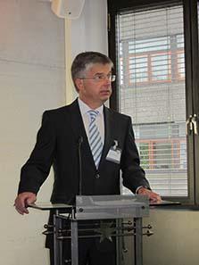Dr. Peter Huber, Leiter der Staatlichen Münzen Baden-Württemberg. Foto: UK.