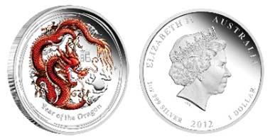 Australia -1 AUD - 1oz 999 silver - 31.135 g - 45.60 mm - Mintage: 10,000. // Australia - 0.5 AUD - 1/2oz 999 silver - 15.591 g - 36.60 mm - Mintage: 10,000.