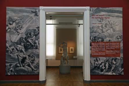 Eingangsbereich der Ausstellung.