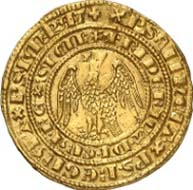 No. 5244: EUROPE. Sicily. Frederick III (1296-1337). Reale d'oro n. y., Messina. Spahr 1. Splendid specimen of utmost rarity. Extremely fine. Estimated: 46,000 EUR.