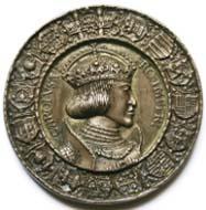 Hans Krafft nach Entwurf Albrecht Dürers, Kaiser Karl V. (1519-1556). Dedikationsmedaille der Stadt Nürnberg, 1521, Prägung auf vorgegossenem Rohling, Silber, 71 mm. Foto: Wolfgang Steguweit.