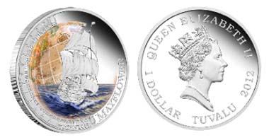 Tuvalu - 1 TVD - 1oz 999 silver - 31.135 g - 40.60 mm - Design: Tom Vaughan - Mintage: 5,000.