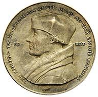 Medal: Erasmus von Rotterdam, Quentin Massys (Leuven c. 1456-1530 Antwerp), dated to 1519, cast probably c. 1524. From the property of Erasmus of Rotterdam. 333.68 g. Inv. 1916.288.