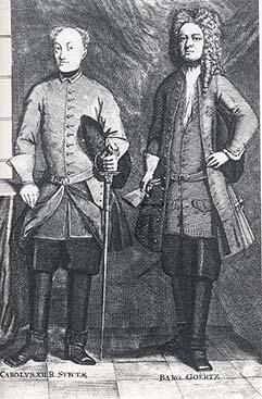 Freiherr von Görtz and Charles XII.