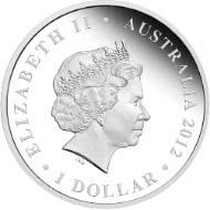 Australia - 1 AUD - 1oz 999 silver - 31.135 g - 40.60 mm - Mintage: 7,500 - Design: Darryl Bellotti.