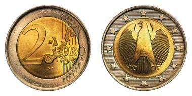 Los 10516: 2-Euro-Probeprägung. Ausruf: 1.000 Euro - Ergebnis: 4.248 Euro.