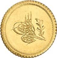 Yirmilik, Konstantinopel, 1255 H. (= 1845 vor der Münzenreform). Friedberg 13. Aus Auktion Künker 199 (12. Dezember 2011), Nr. 4. Schätzung: 200 Euro.