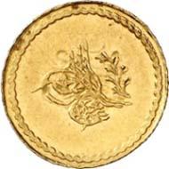 Ceyrek, Konstantinopel, 1255 H. (= 1845 vor der Münzenreform). Friedberg 15. Aus Auktion Künker 199 (12. Dezember 2011), Nr. 9. Schätzung: 75 Euro.