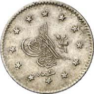 Kurush, Konstantinopel, 1255 H. (= 1845 nach der Münzenreform). KM 671. Aus Auktion Künker 199 (12. Dezember 2011), Nr. 85. Schätzung: 400 Euro.
