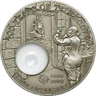 Palau - 5 Dollar - 925 Silber - 25 g - 38,61 mm - Auflage: 1.608.