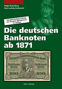 Rosenberg/Grabowski, Die deutschen Banknoten ab 1871, 18. Auflage 2011, 664 Seiten, 14,8 x 21 cm, durchgehend farbig, Broschur. ISBN 978-3-86646-539-8, 24,90 Euro.