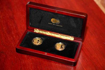 Launched on November 23 at Liliesleaf Farm in Rivonia Johannesburg, the Mandela Luthuli Laureate twin set marks the 50th anniversary of Chief Albert Luthuli winning the Nobel Peace Prize.