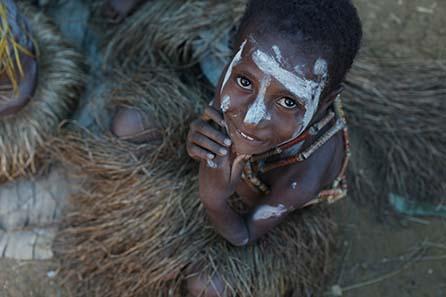 Auch dieses Kind erhält Unterstützung durch den Pacific People Aid Fund e. V. Foto: Ulla Lohmann.