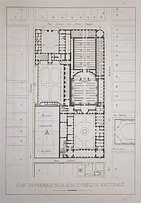 Plan des Umbaus von 1880
