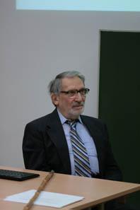 Ted Buttrey hielt in Wien einen spannenden Vortrag. Foto: Michael Hollunder.