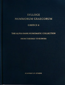 Dimitra Tsangari (ed.), SNG. Greece 6. The Alpha Bank Numismatic Collection. From Thessaly to Euboea, 22,5 x 29,5 cm, 45 Euro.