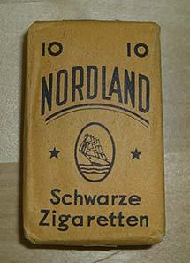 Eine Schachtel der in Lahr produzierten Zigaretten