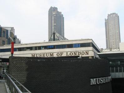 Museum of London. Source: Man vyi / Wikipedia.