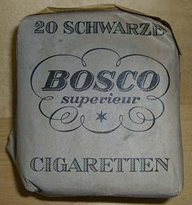 Cigarettes of the Bosco brand.