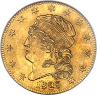 4680: 1828/7 $5 MS64 NGC. CAC. Breen-6487, BD-1, R.7.