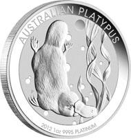 Australia - 100 AUD - 1oz 999 platinum - 31.12 g - 32.60 mm - Design: Natasha Muhl - Mintage: 30,000.