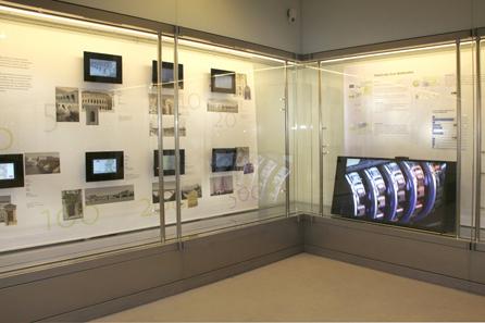 Blick in die Ausstellung. Foto: OeNB.