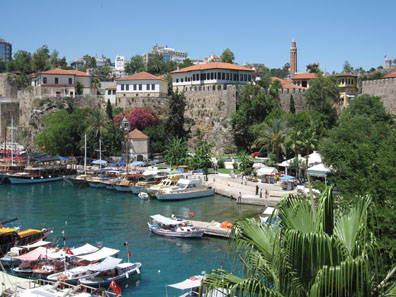 The harbour of Antalya. Photo: KW.