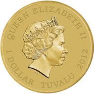 Tuvalu - 1 TVD - Aluminium-Bronze - 13.80 g - 30.60 mm - Mintage: 10,000.